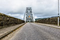 Connel bridge scotland the is a cantilever that spans loch etive at in Royalty Free Stock Photo