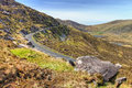Conor Pass in Dingle, Ireland. Stock Photos