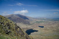 Conor pass dingle kerry ireland on a sunny day Royalty Free Stock Photography