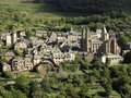 Conques Stock Image
