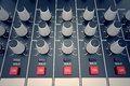 Console audio Foto de Stock Royalty Free