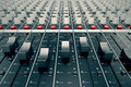 Console audio Imagem de Stock Royalty Free