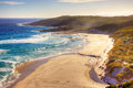Conspicuous beach near the town of walpole in western australia Royalty Free Stock Image