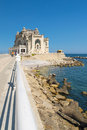Constanta casino romania the old on the black sea coast in Royalty Free Stock Image