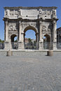 Constantin gate in Rome Stock Photography