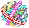 Štúdium neustály rast vzdelanie tréning