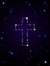 Constellation cross Stock Images