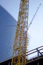 Construction of big building Stock Photos