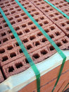 Construction Bricks Stock Image
