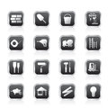 Construction and Building Icon Set Royalty Free Stock Photo