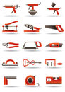 Construction and building tools Stock Images