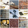 Stock Images Construction collage