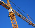 Construction Crane Stock Photo