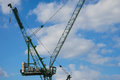 Construction Crane, City of London Royalty Free Stock Photo