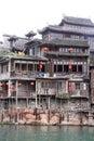 Construction de type chinois Photos stock