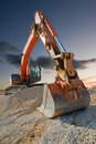 Construction Digger Royalty Free Stock Photo