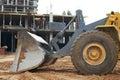 Construction earthmoving works Royalty Free Stock Photo