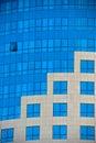 Construction en verre Photos libres de droits