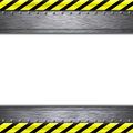 Construction frame borders on plain background Royalty Free Stock Photos