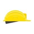 Construction helmet icon.