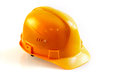 Construction helmet on white background Royalty Free Stock Photos