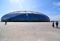 Construction of ice hockey rink in Sochi
