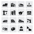 Construction icons Stock Images