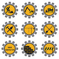Construction icons. Stock Photography