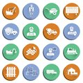 Construction icons set Stock Photo