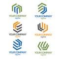 Construction logo collection