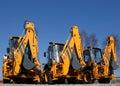 Construction machinery Royalty Free Stock Photos