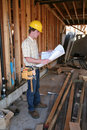 Construction Man Royalty Free Stock Images