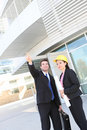 Construction Man and Woman Team Royalty Free Stock Photography
