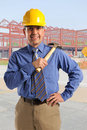 Construction Manager Stock Photo