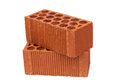 Construction Material a brick Royalty Free Stock Photo