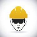Construction signals design vector illustration Stock Image