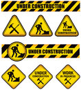 Title: Construction Signs