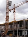 Construction site Royalty Free Stock Photo