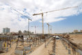 Construction site in the centre of beer sheva Stock Images