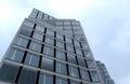Construction site with tower crane over blue sky oct sofia bulgaria Stock Photography