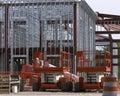 Construction steel Στοκ φωτογραφία με δικαίωμα ελεύθερης χρήσης