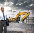Construction supervisor Royalty Free Stock Photo