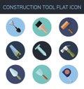 Construction tool flat icon