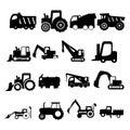 Title: Construction vehicles