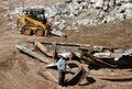 Construction welder Stock Photo
