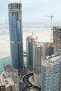 Construction work abu dhabi united arab emirates Stock Photography