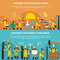 Construction Worker Flyer Set