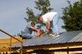 Konštrukcie pracovníci na strecha