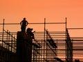 Konštrukcie pracovníci na lešenie