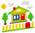 Constructor house Stock Photos